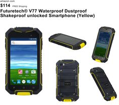 Futuretech® V77 Waterproof Dustproof Shakeproof unlocked Smartphone 4.5 IPS  Screen Rugged Android 5.1 Qual Core 380ef33482