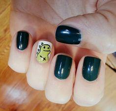 Dinosaur Nails - Dinosaur Nail Art: