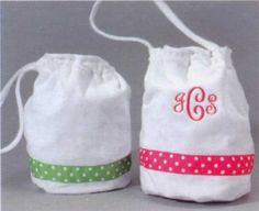 Monogrammed Shower Bag ($34.95)