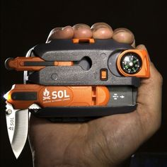 Origin multi-function survive outdoor tool by SOL