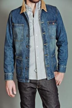 Public Label J1 Denim Jacket Indigo