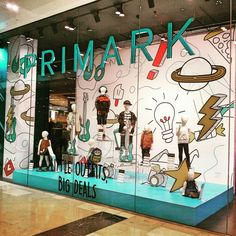 "PRIMARK KIDS,""Little Outfits, Big Deals"", illustrations by Caroline Roose, pinned by Ton van der Veer"