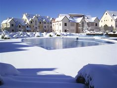 Ifrane, Morocco. Yes, Morocco, Ifrane is a small Switzerland in Morocco, in the Atlas range.