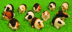 12th Scale Dolls House Assorted Guinea Pigs (12) DA015 | Hobbies | Streets Ahead