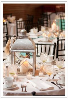 pretty white option, perfect for beach themed wedding