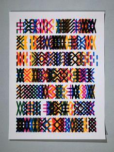 Helmo typographie, lien avec katherine zask