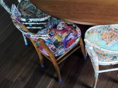 I like these chairs and you?