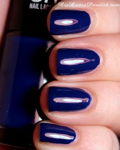 Ria Loves Pawlish: Maybelline Color Show Sapphire Siren