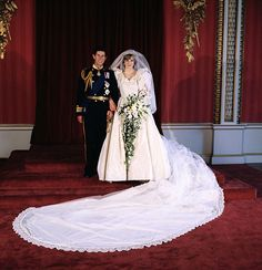 Prince Charles' royal wedding to Diana Spencer,1981,divorce in 1996