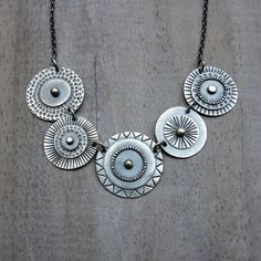 Garland Necklace by MUSIBATTY on Etsy