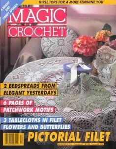 Artesanato com amor...by Lu Guimarães: Revista Magic crochet 87 Completa