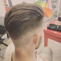 Beauty mens hair cut
