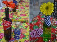 Dicas para decorar mesas de festas juninas ~ Artesanato na Pratica