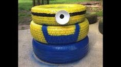 Image result for animals made of tires