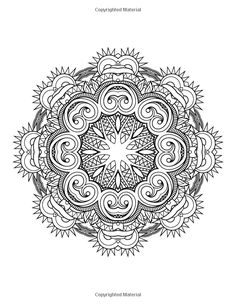 Amazon The Worlds Best Mandala Coloring Book Volume 2 A Stress Management