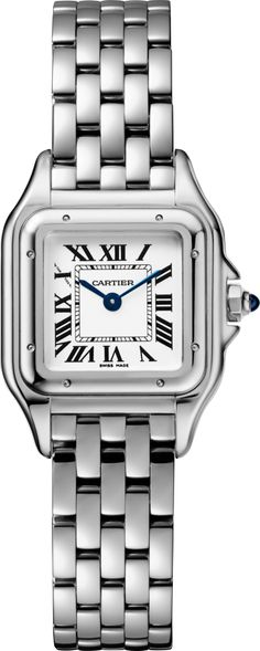 CRWSPN0006 - Panthère de Cartier watch - Small model, steel - Cartier