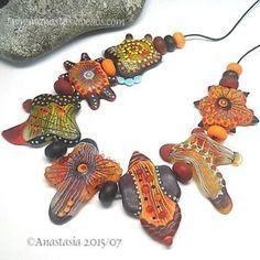 ANASTASIA-handmade-lampwork-beads-7-HEATWAVE-SRA http://www.ebay.com/itm/261961488058?ssPageName=STRK:MESELX:IT&_trksid=p3984.m1555.l2649