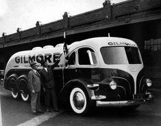 Gilmore Tanker truck, 1939, L.A.