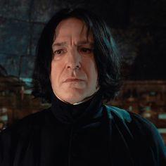 Harry Potter Severus Snape, Alan Rickman Severus Snape, Severus Rogue, Secret Love, Half Blood, Actors, Slytherin House, Saga, Fanart