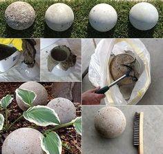 ▷ diy: osterdeko mit ostereiern aus beton selber machen | deko, Gartenarbeit ideen