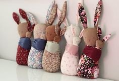 Handmade Dolls sustainably made in Canada for children out out cotton, organic materials, linen and natural fibres. Doll Crafts, Sewing Crafts, Sewing Projects, Diy Crafts For Kids, Gifts For Kids, Fabric Toys, Sewing Patterns For Kids, Bunny Toys, Sewing Dolls