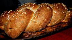 Whole Wheat Vegan Challah Bread: Eggless Bliss #vegan #RoshHashanah #recipe