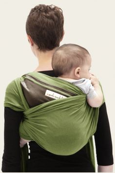 awesome baby wrap - great for dad's too