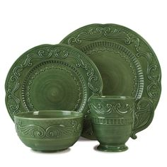 Ricamo 4-Piece Dinnerware Set