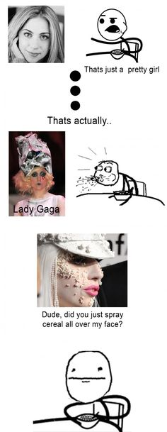 Cereal guy does lady gaga's makeup - http://umad.com/cereal-guy-does-lady-gagas-makeup/ - #Cerealguy, #Ladygaga, #Makeup