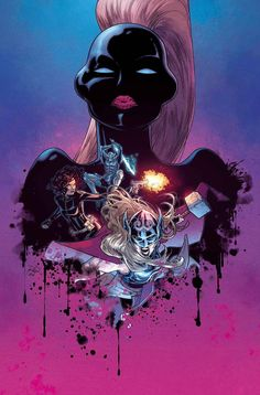 Examine the #Exterminatrix before she takes on #TheMightyThor in issue #9, available from July 27, 2016. #JasonAaron