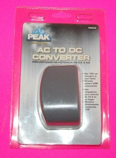 NEW Peak AC to DC Converter PKCOJZ Performance Adapter #PeakPerformance