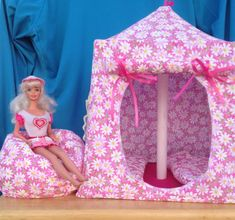 This Is The Tent I Am Making For The Grand Daughters