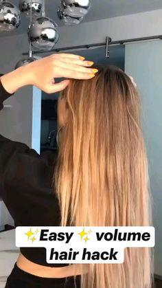 Work Hairstyles, Easy Hairstyles For Long Hair, Pretty Hairstyles, Hairdos, Updos, Medium Hair Styles, Curly Hair Styles, Look Girl, Great Hair