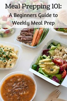 This is the best guide ever on meal prepping!! Tons of info and ideas. Now i'm ready to get started meal prepping!