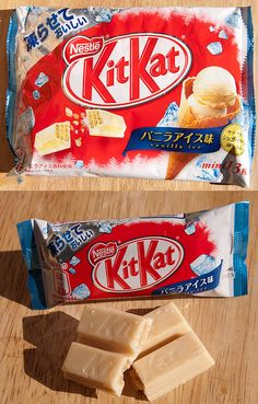 Vanilla Ice cream Kit Kat, Japan by kalvin1974, via Flickr