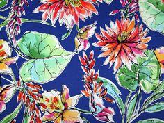 Floral Print Stretch Cotton Sateen Dress Fabric Multicoloured | Fabric | Dress Fabrics | Minerva Crafts