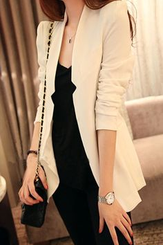 Notched blazer