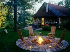 Plan Your Backyard Landscaping Design Ahead With These 35 Smart DIY Fire Pit Projects homesthetics backyard designs (34)