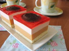 kruche babeczki: Ciasto z sokiem kubuś 2 Sweets Recipes, Cake Recipes, Food Cakes, Ale, Sweet Tooth, Pudding, Cookies, Polish, Deserts