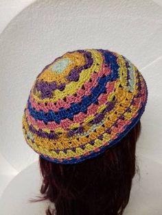 paars meer kleurige baret 1 Crochet Hats, Beanie, Fashion, Knitting Hats, Moda, La Mode, Fasion, Beanies, Fashion Models