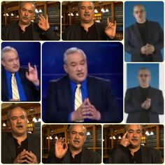Walid Shoebat Masonic Hand Sign Collage