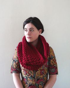 Infinity Cowl Cowl Scarf Cowl Neckwarmer  The Neck by MadebyChloee, £42.00