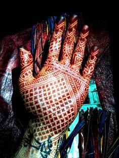 Henna Moroccan design