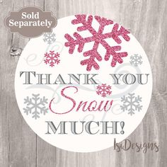 Winter Baby Shower Baby Prediction Card Printable Pink