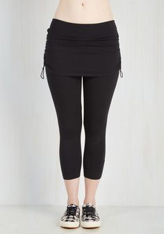 Leggings - The Leisure Is Mine Athletic Leggings in Cropped