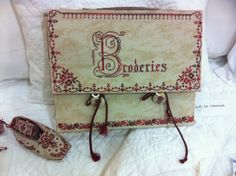 Cartable broderies