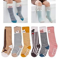 683d6509f8c LAISOR baby girls boys knee high socks for toddlers are so comfortable and  adorable in assorted colors and patterns.