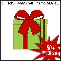 50+ #ChristmasGifts to make for under 10 bucks  #Handmade @savedbyloves