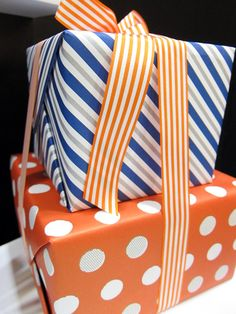 pretty gift wrap from The Social Type