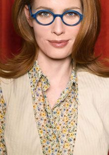 O, The Oprah Magazine's experts match eyeglasses frames to four types of face shape: square, oval, heart, and round.